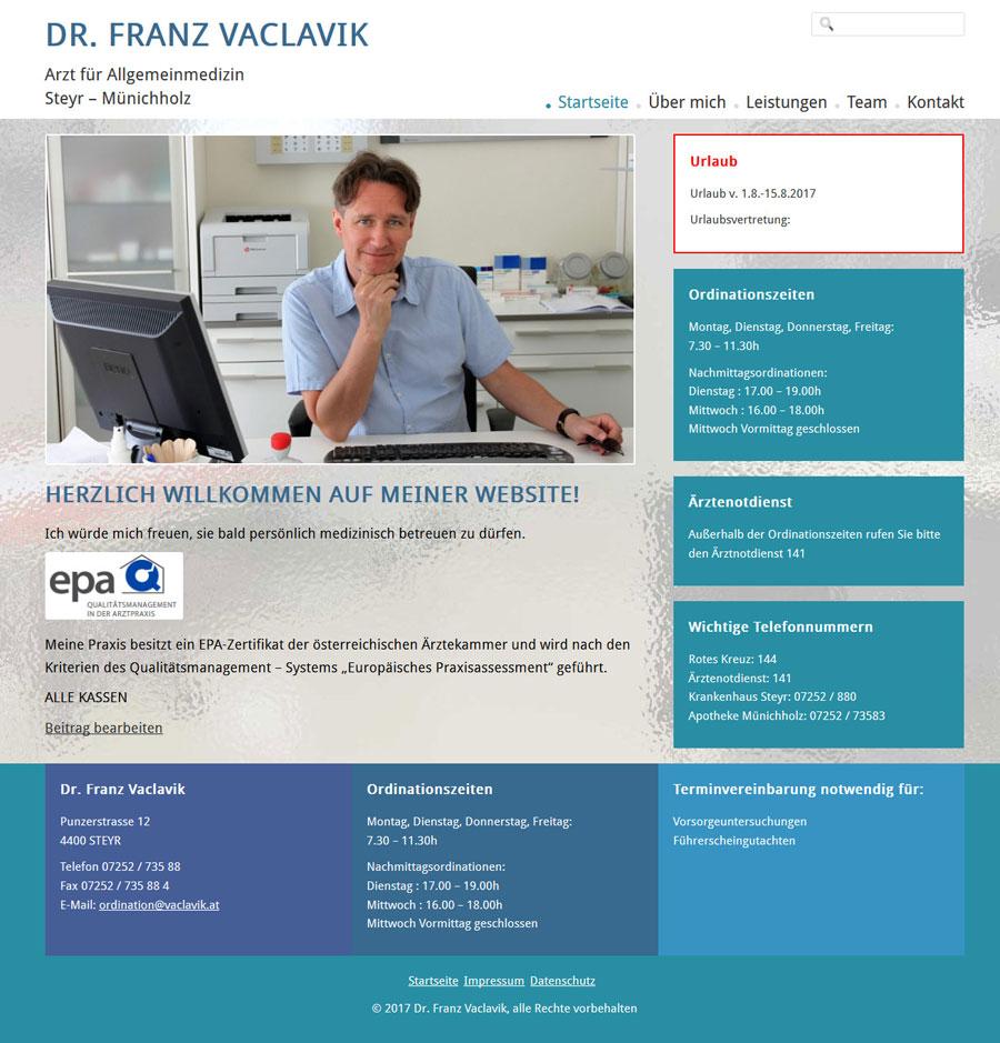 Dr. Franz Vaclavik