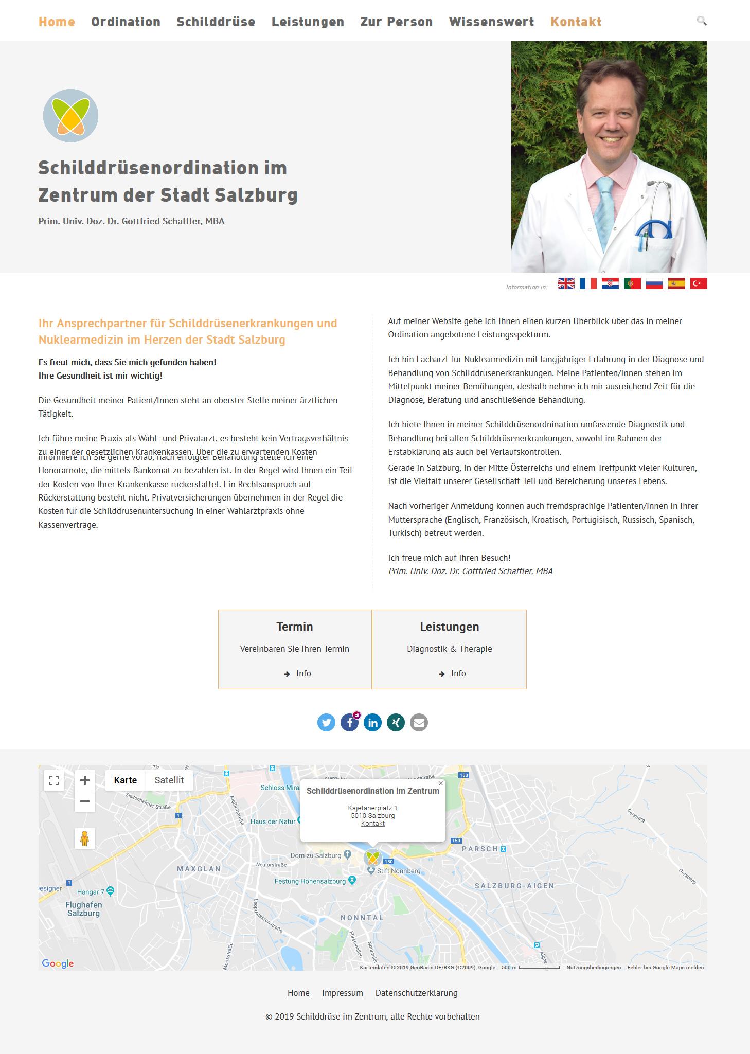 Schilddrüsenordination Salzburg