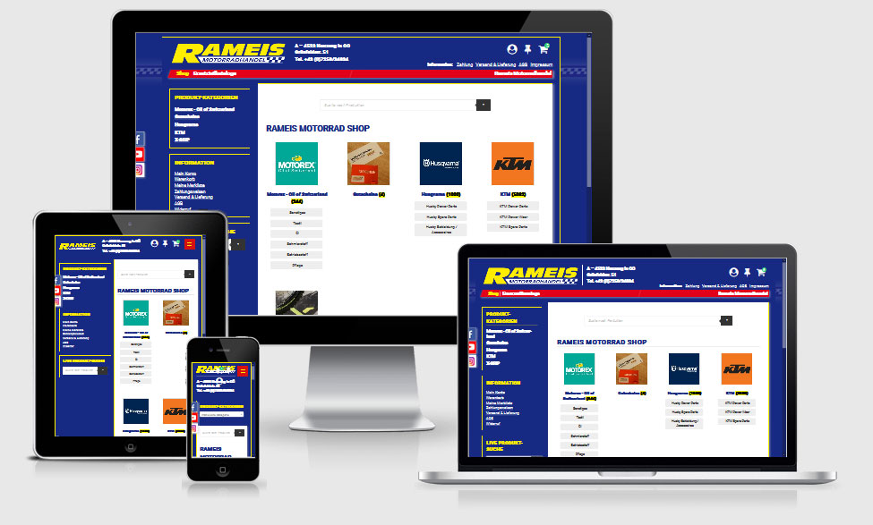 RAMEIS Online-Shop